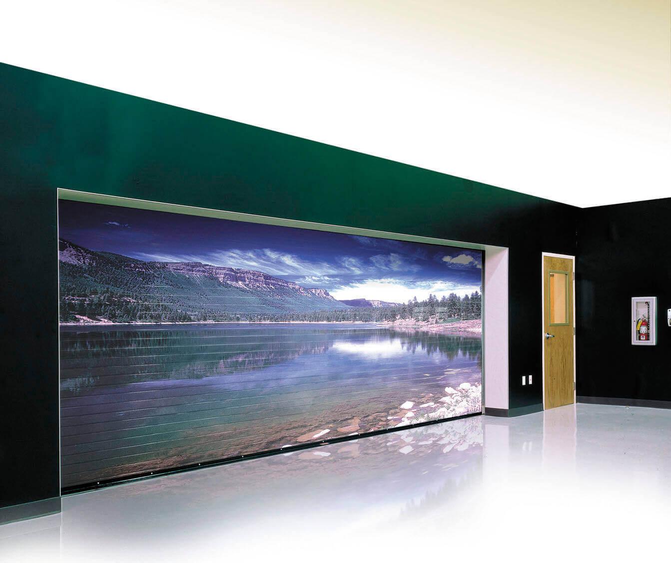 rideaux m talliques lames pleines ou micro perfor es. Black Bedroom Furniture Sets. Home Design Ideas