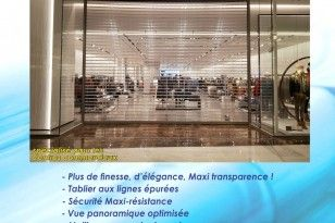 Rideau de protection transparent MAXIVISION®